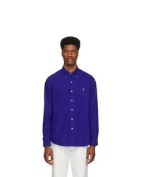 Chemise à manches longues bleu marine Polo Ralph Lauren
