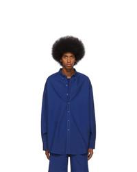 Chemise à manches longues bleu marine Sies Marjan