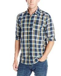 Chemise à manches longues bleu marine Volcom