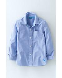Chemise à manches longues bleue claire