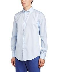 Chemise à manches longues bleue claire Esprit