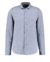 Chemise à manches longues bleue claire Michael Kors