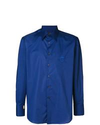 Chemise à manches longues bleue Billionaire