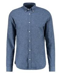 Chemise à manches longues bleue Jack & Jones