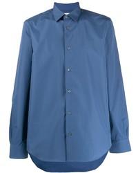 Chemise à manches longues bleue Paul Smith