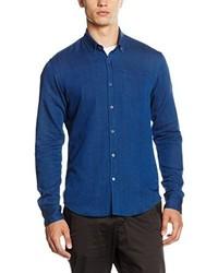Chemise à manches longues bleue Scotch & Soda