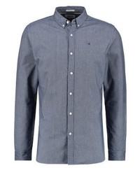 Chemise à manches longues bleue Tommy Hilfiger
