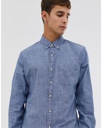 Chemise à manches longues en chambray bleu clair J.Crew Mercantile
