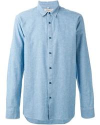 Chemise à manches longues en chambray bleu clair Levi's