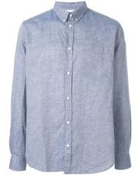 Chemise à manches longues en chambray bleu clair Norse Projects