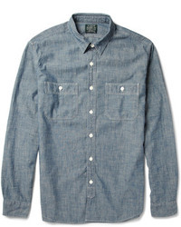 Chemise a manches longues en chambray original 363960