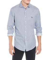 Chemise à manches longues en flanelle à carreaux violet clair