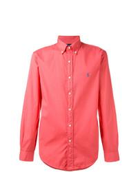Chemise à manches longues fuchsia Polo Ralph Lauren