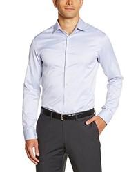 Chemise à manches longues grise Celio
