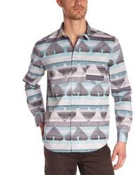 Chemise à manches longues grise Cheap Monday