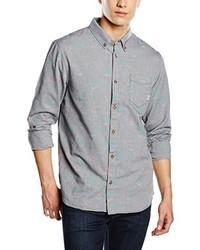 Chemise à manches longues grise Vans