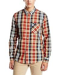 Chemise à manches longues marron Lee