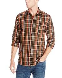 Chemise à manches longues marron Volcom