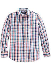 Chemise à manches longues multicolore