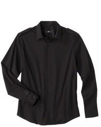 Chemise à manches longues noire