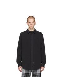 Chemise à manches longues noire Alexander Wang