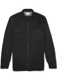 Chemise à manches longues noire J.Crew