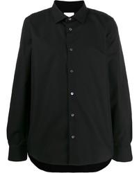 Chemise à manches longues noire Paul Smith