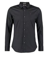 Chemise à manches longues noire Tommy Hilfiger
