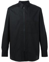 Chemise à manches longues noire Y-3