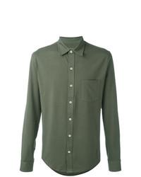 Chemise à manches longues olive Closed