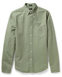Chemise à manches longues olive J.Crew