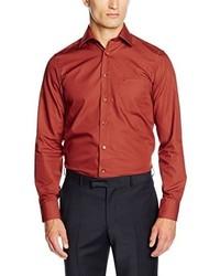 Chemise à manches longues orange Casamoda