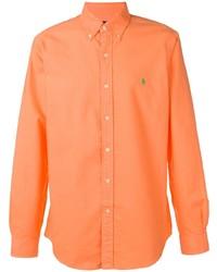 Chemise à manches longues orange Polo Ralph Lauren