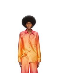 Chemise à manches longues orange Sies Marjan