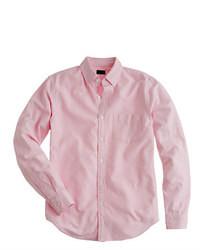Chemise à manches longues rose
