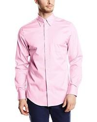 Chemise à manches longues rose Gant