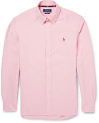 Chemise à manches longues rose Polo Ralph Lauren