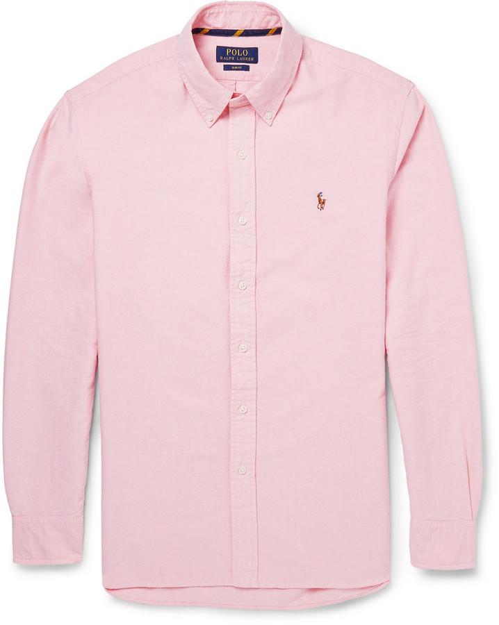 Chemise à manches longues rose Polo Ralph Lauren  Où acheter et ... 97763c8fa3e1