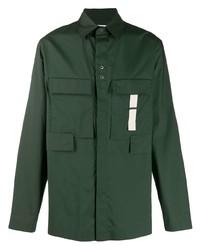 Chemise à manches longues vert foncé Craig Green