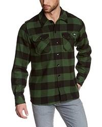 Chemise à manches longues vert foncé Dickies