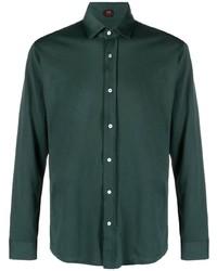 Chemise à manches longues vert foncé Mp Massimo Piombo