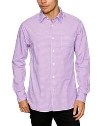 Chemise à manches longues violet clair Benson