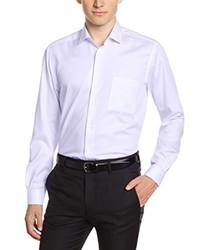 Chemise à manches longues violet clair Pierre Clarence