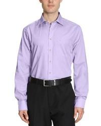 Chemise à manches longues violet clair Seidensticker