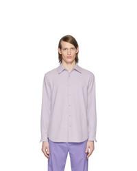Chemise à manches longues violet clair Tibi