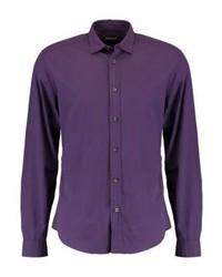 Chemise à manches longues violette Esprit