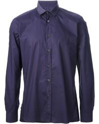 Chemise à manches longues violette Lanvin