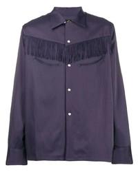 Chemise à manches longues violette Needles