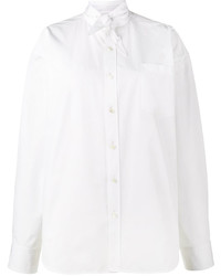 Chemise blanche Balenciaga