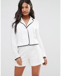 Chemise blanche Boohoo